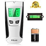 Stud Finder Sensor Wall Scanner -4 in 1 Electronic Stud positioner with Digital LCD Display,Central Positioning Stud Sensor and Sound Alarm are Display for Wood AC Wire Metal Studs Detection