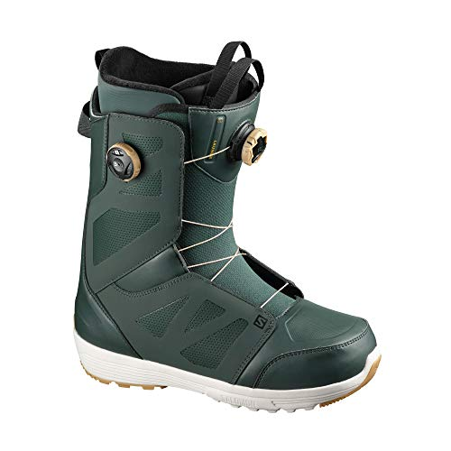 Salomon Boa Sj Botas de snowboard UK 8.5 Verde Gables Urban Chic Arrowwood