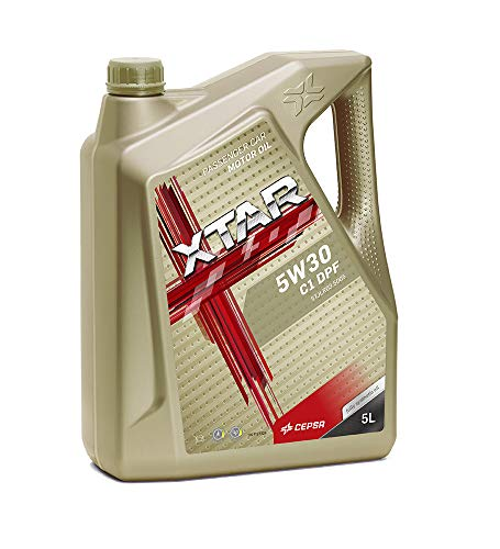 CEPSA 513913077 XTAR 5W30 C1 DPF 5L Lubricante Sintético para Vehículos Gasolina y Diésel