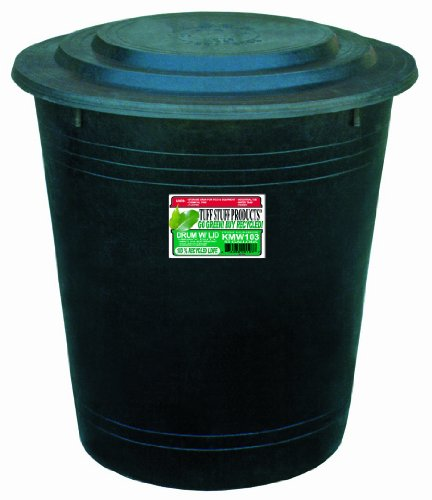 : Tuff Stuff Products KMW103 Drum with Lid, 53-Gallon