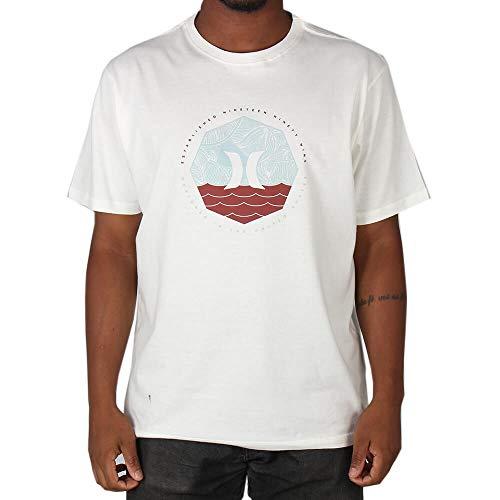 Camiseta Hurley Around - Branco - G