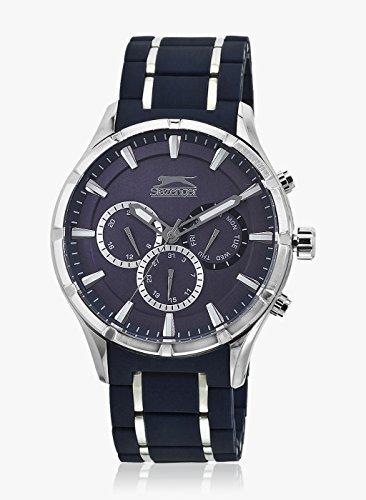 Reloj Moderno para Hombre Slazenger multifuncion con Correa Mixta Caucho y Metal SL.09.6004.2.03