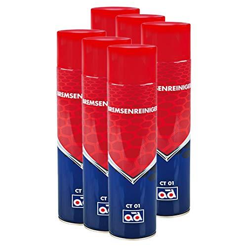 AD Chemie 6X Bremsenreiniger Ct 01 600ml Spraydose Spray Kanister Bremsenreinigung Scheiben Trommel Scheibenbremse Trommelbremse 4050561k