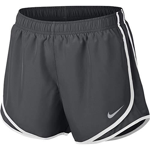 Nike Women s Dri-fit Tempo Track 3.5 Short (Anthracite Anthracite White Wolf Grey, Medium)