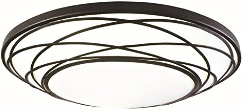 Portfolio 19.11-in W Black LED Flush Mount Light