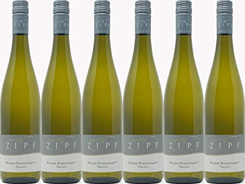 Zipf Weißer Burgunder*** 2019 Trocken (6 x 0.75 l)
