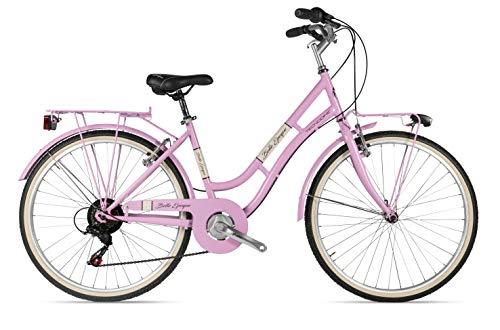 Tecnobike Belle Epoque 6V Exclusive Bazam.Store Selection - PRO Frame - Colore Personalizzato Rosa Antico