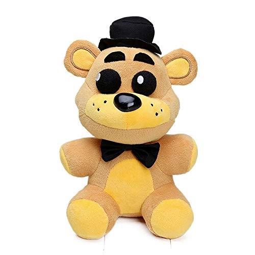 Golden Freddy - 10 Inch - 5 Night Freddy's Plush: Shadow Nightmare Phantom Withered Freddy Fazbear - Freddy Plush - Birthday Plush Gift - XSmart Global