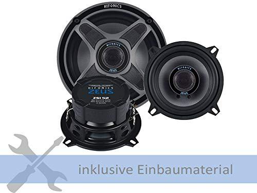 Hifonics luidspreker ZSI-52 320W 130 mm 2-wegs coax geschikt voor FIAT Marea Weekend (185) 1996-2002 deuren front