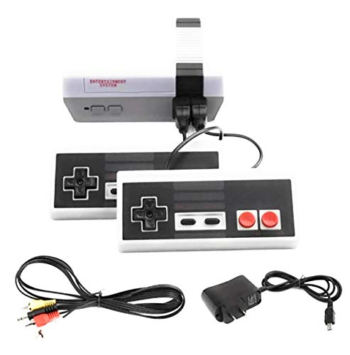 MSE Retro Mini Classic 1980's Gaming Console with 620 Games Built in 2 NES Style Controllers Included AV Output