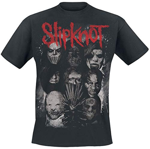 Slipknot We Are Not Your Kind - Masks Hombre Camiseta Negro, Regular