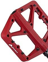 Eigertec Basic MTB Pedals Mountain Bike Pedals Lightweight Nylon Fiber Bicycle Platform Pedals Flat Pedal for BMX MTB 9/16