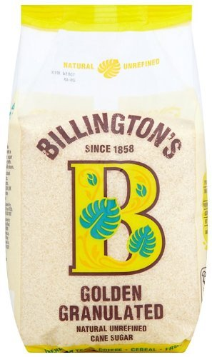 Billingtons | Sugar - Golden Granulated | 8 x 1kg