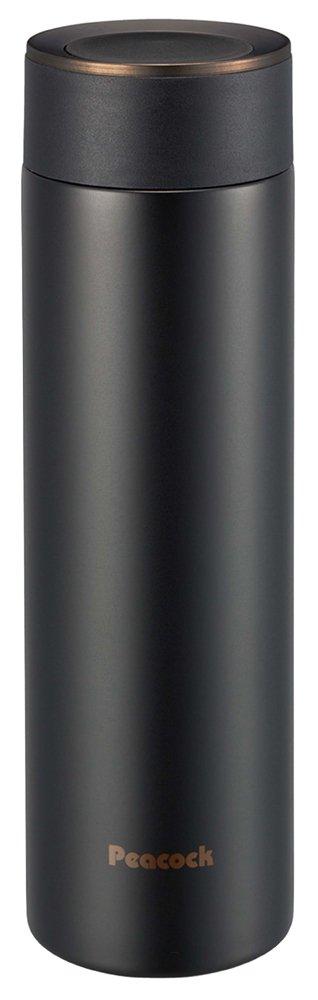 Peacock ピーコック魔法瓶 ステンレスボトル 男の魔法瓶シリーズ(0.5L) AMS-50 ブラックブラウン(BT)