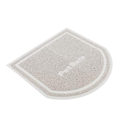 PetSafe Anti-Tracking Litter Mat, Compatible with All Cat Litter Boxes, Gray Mesh, Easy to Clean, Non-Slip Material, Small - ZAC00-16814