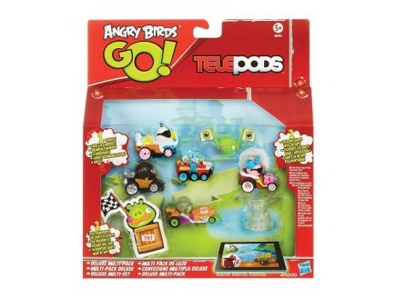 Hasbro Telepods Angry Birds go - Multi Pack Deluxe