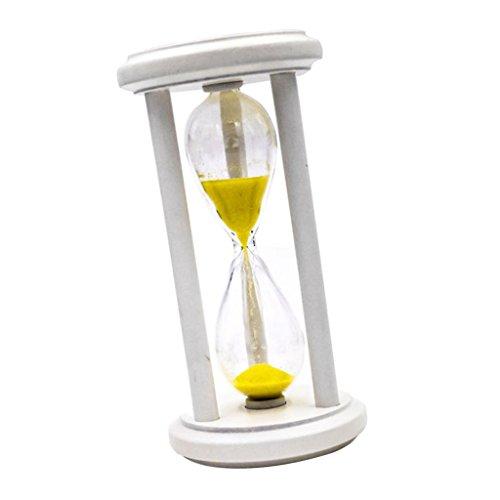 MagiDeal 3 Min Sablier En Bois Sable Minuterie Horloge Cuisine Cuisson Jouet d'Apprentissage Enfants