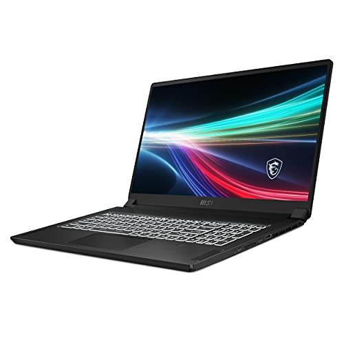 """MSI Creator 17 B11UG-019ES -- Ordenador portátil de 17.3"""" UHD (Intel Core i7-11800H, 32GB de RAM, 1TB SSD, Nvidia RTX3070-8GB, Windows 10 Pro) Negro - Teclado QWERTY Español"""