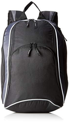 Bag Base Mixte Bg571bkgp Teamwear Sac à Dos, Noir/Gris Graphite/Blanc, Medium