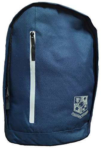USP Unisex's Tranmere Rovers FC Premium Crest Backpack, Navy, 31 x 18 x 43.5 cm
