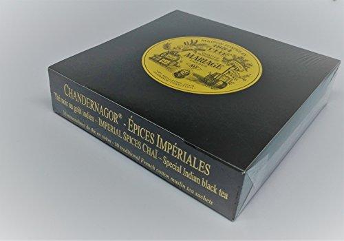 Mariage Frères - CHANDERNAGOR CHAÏ - Boîte de 30 sachets mousseline de thé