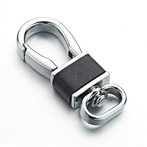 YSKQDQ DIY Keychain Bag Accessories Chain Key Ring Wild high Chain Link YSKQDQ (Color : Black)