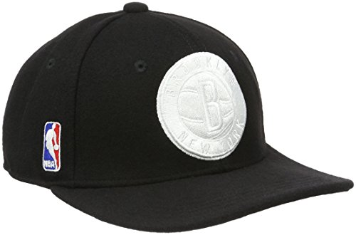 adidas NBA SBC Nets Superstar - Gorra unisex, color negro / blanco,...