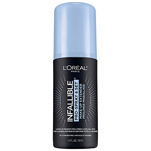 L'Oreal Paris Fijador de Maquillaje, Infallible Fixing Mist, 100 ml