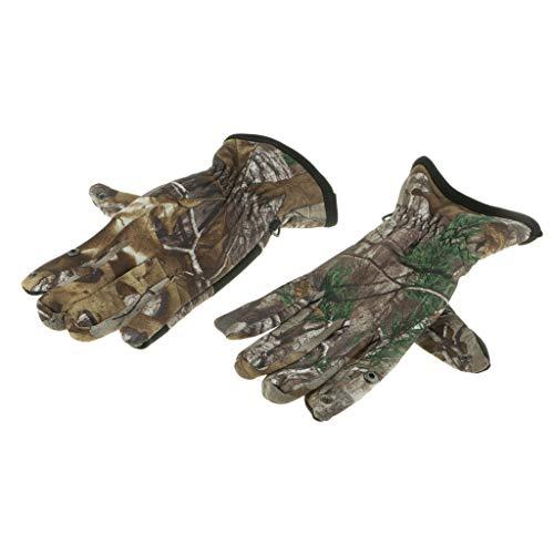 Homyl Winddichte Camouflage-Nylonfischerei-Jagdhandschuh-Winter-warme Handschuhe
