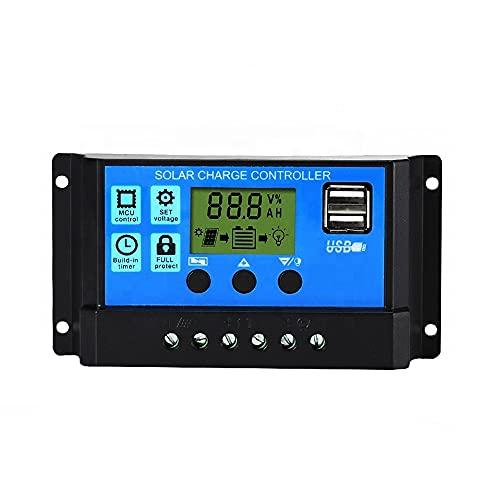 EnergyX 30A Solar Charge Controller Solar Panel Battery