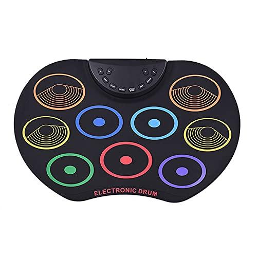 TIWA Farbige Handgerollte Trommel-Set, Erfordert Einen Externen Lautsprecher, EIN Percussion-Instrument Für Anfänger Und Kinder, Die Für Tragbare Anfänger/Kinder Geeignet Sind