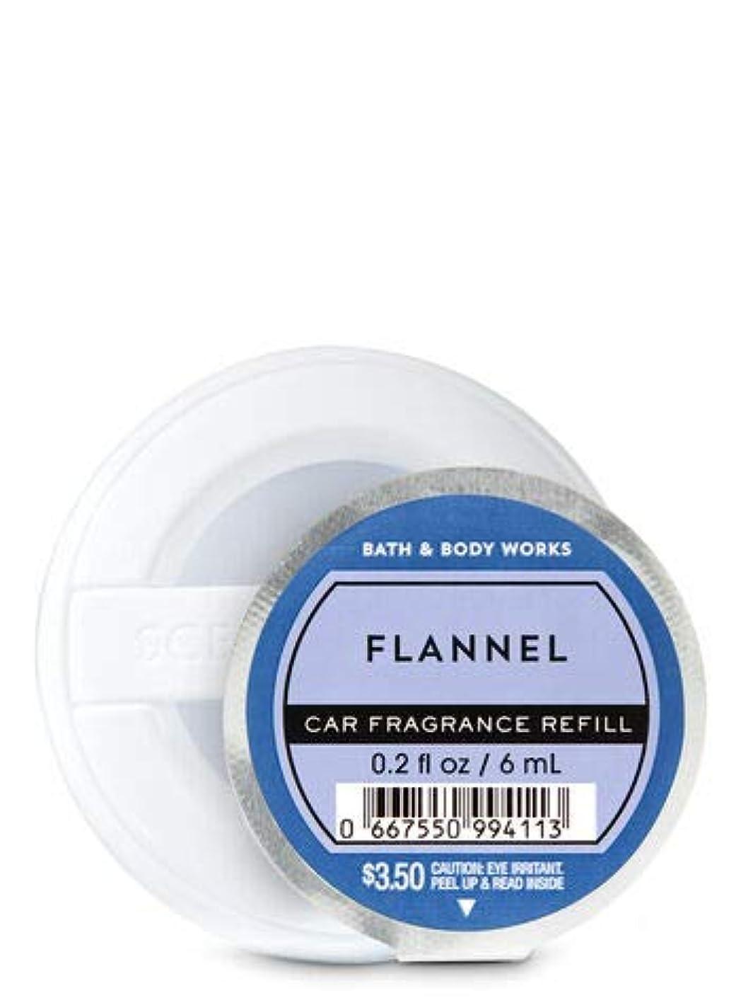 タール共産主義者舌な【Bath&Body Works/バス&ボディワークス】 クリップ式芳香剤 セントポータブル詰替えリフィル フランネル Scentportable Fragrance Refill Flannel [並行輸入品]