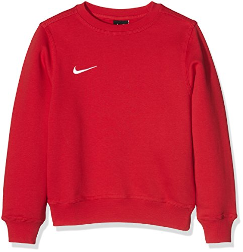 Nike Yth Team Club Crew - Sudadera para niño, Rojo (University Red/Football White), L (147 - 158 cm/12-13 años)