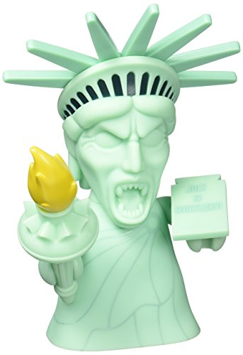 Doctor Who Vinyl Figur Titans Statue of Liberty Weeping Angel 20 cm