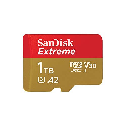 Carte Mémoire MicroSDXC SanDisk Extreme 1 To + Adaptateur SD jusqu'à 160...