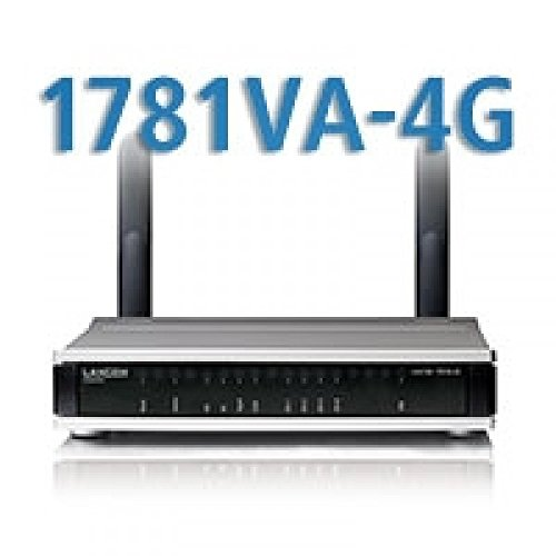 Lancom 1781VA-4G, VDSL2/ADSL2+Router/Modem, (EU, ISDN), LTE