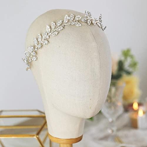 Peineta para el pelo de boda con cristal ópalo, accesorio para novia,...