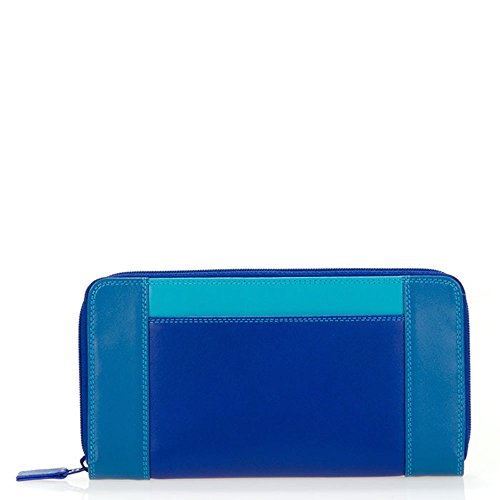 mywalit Zip Around Purse Geldbörse Leder 19 cm seascape