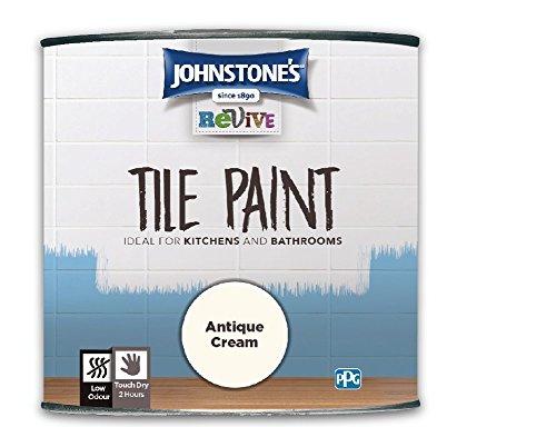 750ml Johnstones Revive Tile Paint Antique Cream