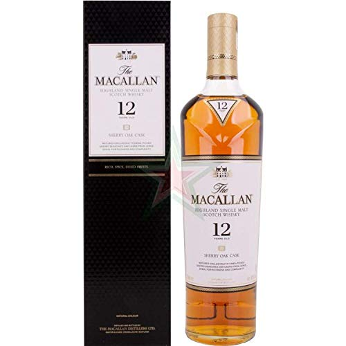 The Macallan 12 Years Old Sherry Oak 40,00% 0,70 Liter