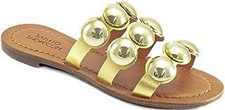 Rasteirinha Tiras Metalizadas Sapato Show 662