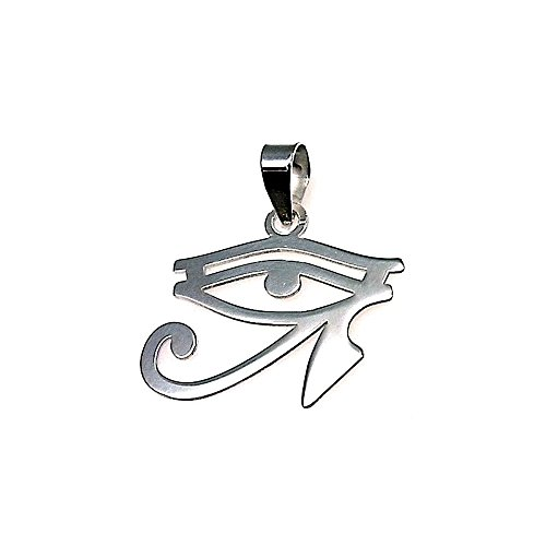 Colgante Plata Ley 925M Amuleto Talismán 23mm. Unisex Ojo Que Todo Lo