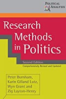 Research Methods in Politics (Political Analysis)