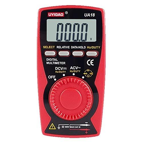LCDディスプレイAC DC電流電流計抵抗計UA18デジタルマルチメータ 安全安心