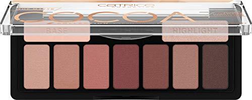 Catrice Collection Eyeshadow Palette, Lidschatten, Nr. 010 Chocolate Lover, mehrfarbig, 9 Farben, farbintensiv, matt, vegan, Mikroplastik Partikel frei, Nanopartikel frei, 3er Pack (3 x 9,5g)