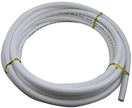 Malida 3/8 Inch Tube 5 Meters 16 feet white PE Tubing Hose Pipe for RO Water Reverse Osmosis