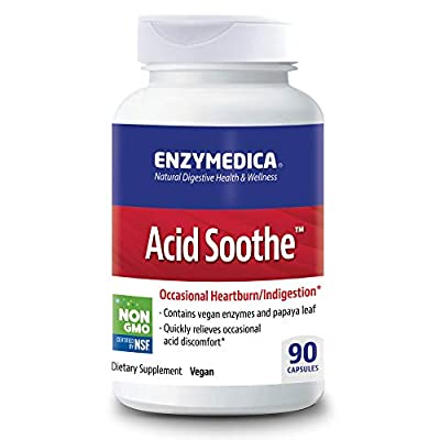 Enzymedica 0.068 g Acid Soothe Capsules - Pack of 90 Capsules