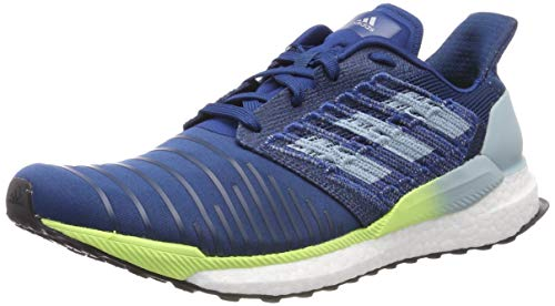 adidas Herren Solar Boost M Laufschuhe, Blau (Legend Marine/Ash Grey S18/Hi/Res Yellow Legend Marine/Ash Grey S18/Hi/Res Yellow), 44 EU