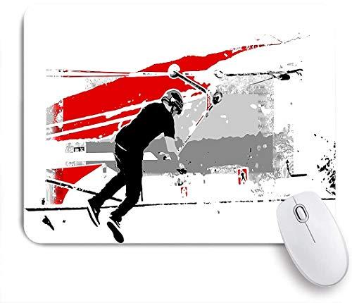 COFEIYISI Mauspad,Office Mauspad(240 * 200mm),Sport Tischtennis,Rutschfeste Mousepad Matte für PC