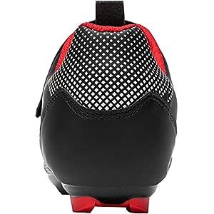 Fenlern Zapatillas de Ciclismo para Hombre,Calzado de Ciclismo de Carretera,Zapatos de MTB,con Suela de Carbono (Rojo Negro,EU 41)